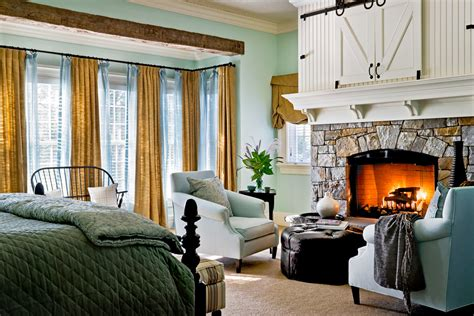 bedroom with fireplace ideas