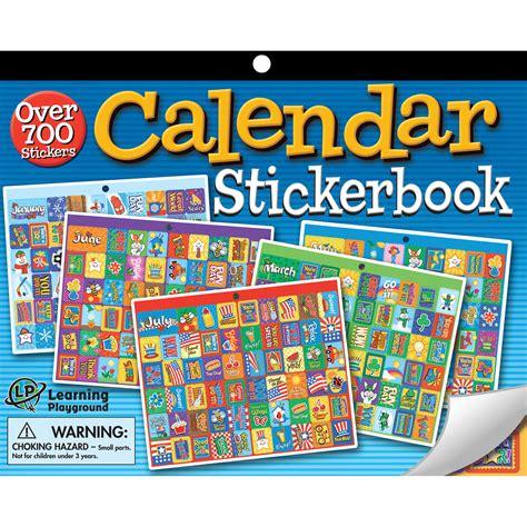 Calendar Stickers Calendar Jumbo Sticker Book Eureka School