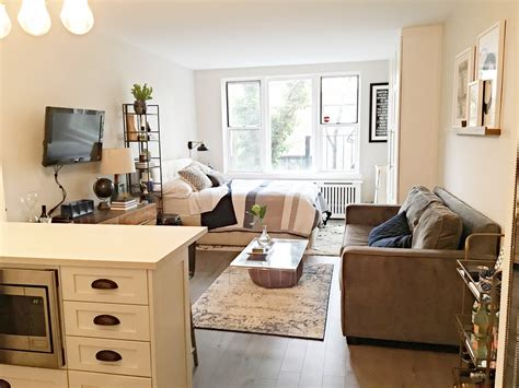 1 Bedroom Apartment Decorating by This Complete Studio Makeover Went From Gut To Gorgeous