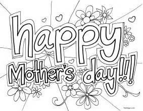 happy mothers day coloring page printable happy mothers day coloring in sheet