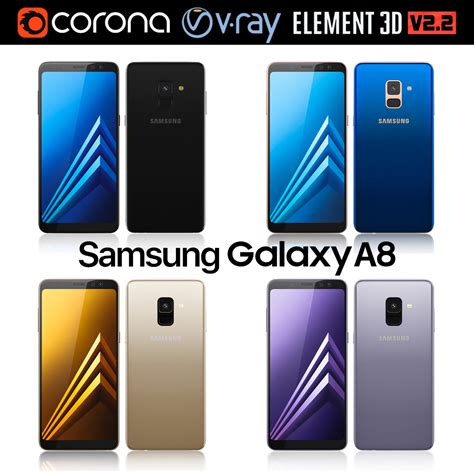Samsung A8 Plus Gsmarena Samsung Galaxy A8 And A8 Plus Collection By Madmix X 3docean