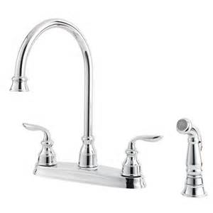 pfister kitchen faucet repair price pfister gt36 4cbc avalon 4 hole two handle kitchen