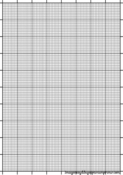 Papel milimetrado para imprimir | Paper printable