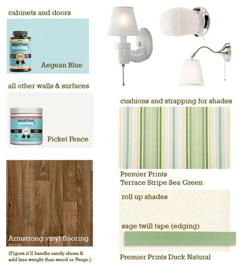 picking out martha stewart paint colors lighting flooring and fabric for our vintage shasta