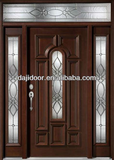 dark brown front door dark brown exterior solid wooden doors design with side