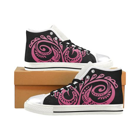 Sneakers Style Blink Canvas Sneakers Ledies Model 13 1 Vl scandinavian peacock black pink s classic high top canvas shoes model 017 id d1411196