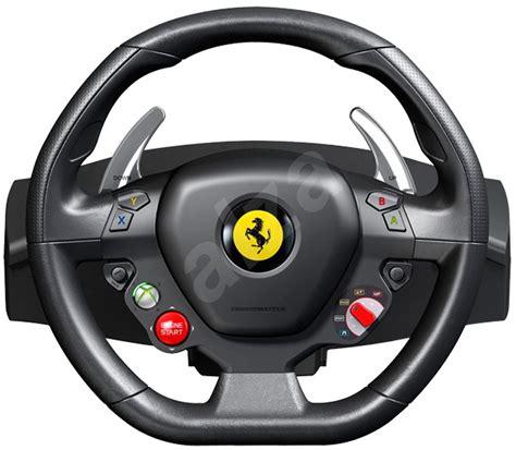 ferrari steering wheel thrustmaster ferrari 458 italia steering wheel