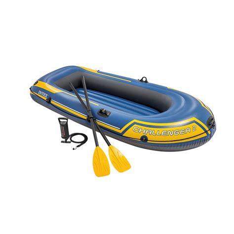 outlet opblaasboot intex opblaasboot challenger 2 set met peddels en pomp