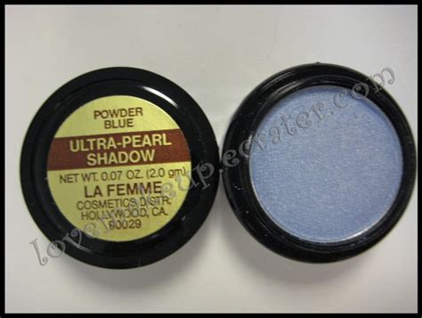La Femme Ultra Pearl Eye Shadow Flamenco la femme ultra pearl eye shadow powder blue
