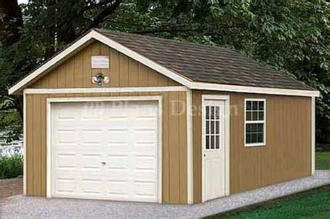 garage plans shed building blueprints design