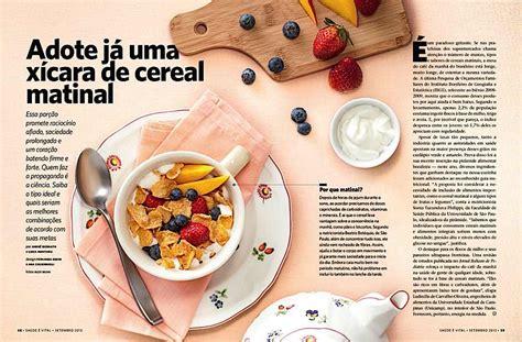 food layout pinterest editorial design inspiration saude magazine