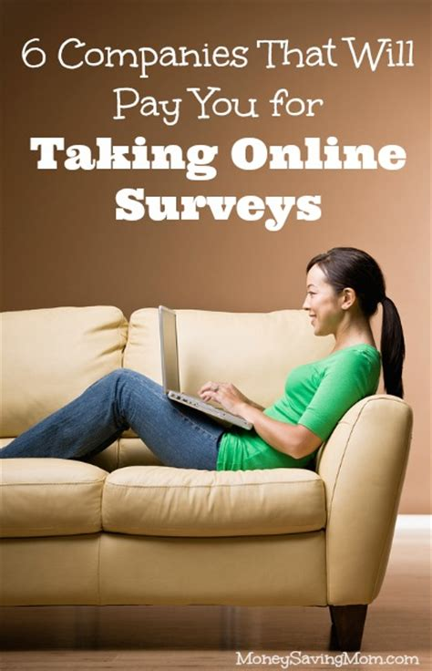 Online Surveys That Pay You - 6 companies that will pay you for taking online surveys money saving mom 174