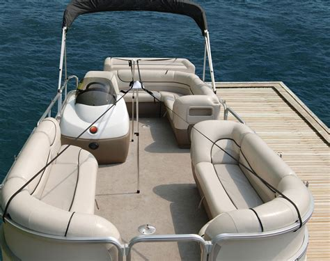 pontoon boat covers on the water dual pontoon boat cover support pole system with straps ebay
