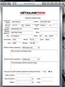 Auto Detailing Description by Car Detailer Creates Form To Inspect Vehicles Form Connections