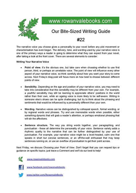 Tips On Writing A Narrative Essay by Tips Writing Your Narrative Voice Aspiringauthors Writingtips Teaching Narrative Voice