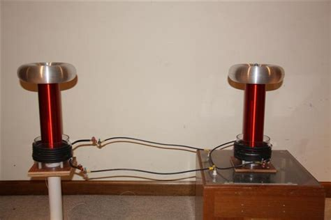 tesla coil toroid construction teslaboys sisg dual tesla coil project