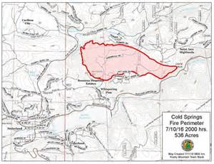 cold springs burns hundreds of acres west of boulder