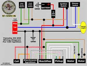 my wiring thread yamaha xs650 forum
