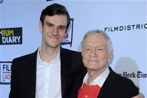 Hugh Hefner Visits Fertility Clinic by Marston Hefner Zimbio