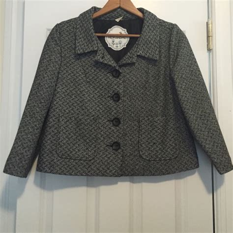 Crop Jaket Mo anthropologie nick and mo cropped wool blend jacket from e s closet on poshmark