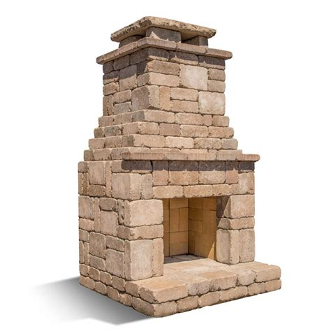 easy outdoor fireplace diy outdoor fremont fireplace kit makes hardscaping simple and fast