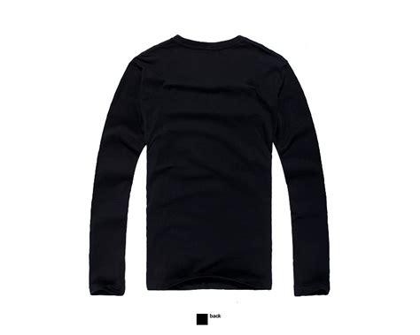 Kaos Tshirt Baju Grande 1 2015 nouveau design noir hiver polaire hommes 192 manches