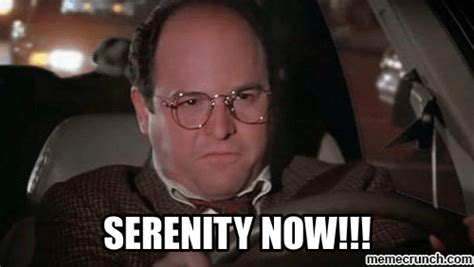 Costanza Meme - saving your sanity and your budget while going through