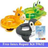 Ban Renang Baby Animal Farbe Orange Intex 59220np T2909 intex daftar harga intex terbaru srp elevenia