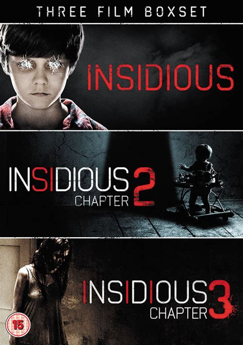 Box Set Laugh Dan Scary nerdly 187 competition win insidious chapter s 1 3 box set on dvd