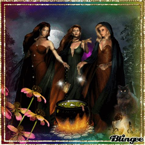 imagenes de brujas blancas el hechizo de las tres brujas image 126084904 blingee com