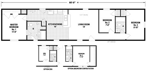 modular home floor plans ny lacey 16 x 66 1023 sqft mobile home factory expo home
