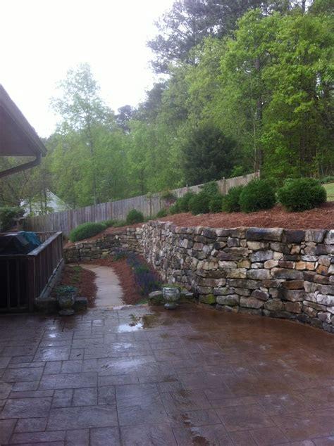 guster backyard 31 best rock brick wall images on pinterest backyard ideas