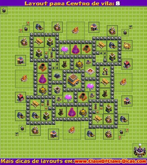 layout design for clash of clans clash of clans th 9 base layout newhairstylesformen2014 com