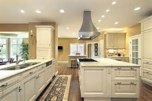 Huge Kitchen Islands by Large Bright Kitchen With Matching Island With Stove