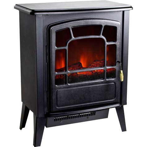 portable electric fireplace heater new portable floor standing electric fireplace retro logwood space heater ebay