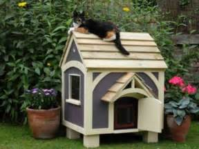 cat homes outdoor cat house how to build search outdoor