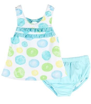 Top Baby Yellow le top baby toddler blue yellow green confetti