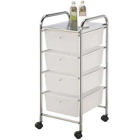 cassetti in metallo carrello per bagno 4 ruote cassetti in metallo cassettiera