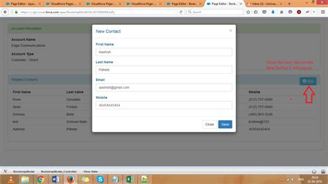 bootstrap tutorial with apex bootstrap exles in visualforce page salesforce tutorials