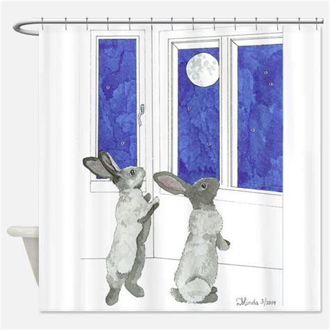 bunny shower curtain rabbit shower curtains rabbit fabric shower curtain liner