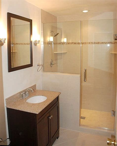 Remodel Small Bathroom With Shower Small Bathroom Remodel Ideas Photo Gallery Angie S List