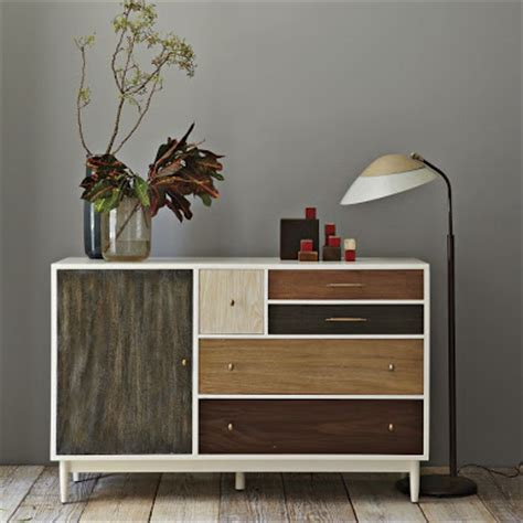West Elm Patchwork - gorgeous shiny things the look for less west elm dresser