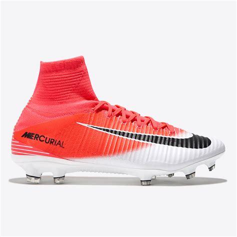 sock football boots nike mercurial superfly no sock white