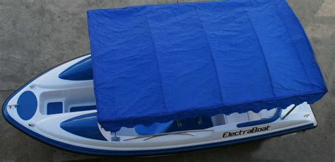 electric boat canopy electraboat electric powered boat