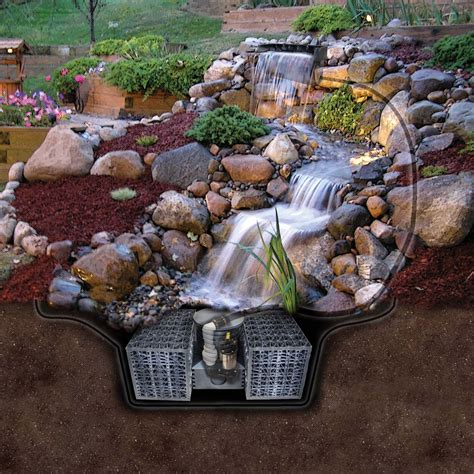 triyae backyard waterfalls and ponds kits various