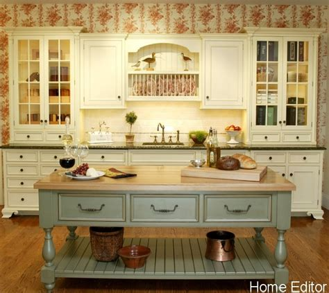 french country kitchen island 6 affordable ways to create a shabby chic kitchen