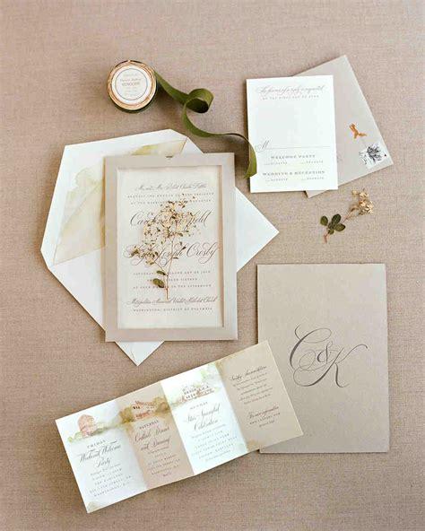 how to make wedding invitations martha stewart martha stewart wedding invitation kit mini bridal
