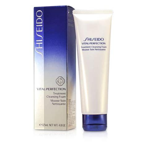 Shiseido Vital Perfection vital perfection treatment cleansing foam shiseido f c