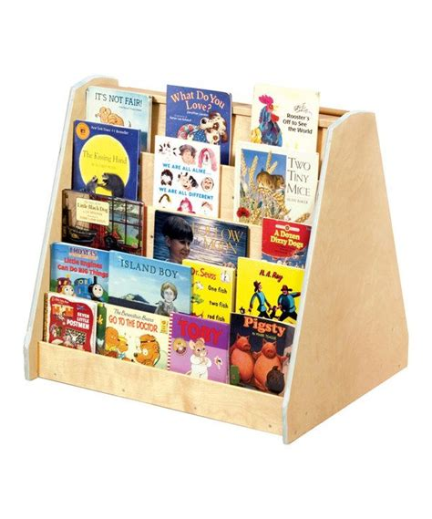 big book library shelf preschool classroom
