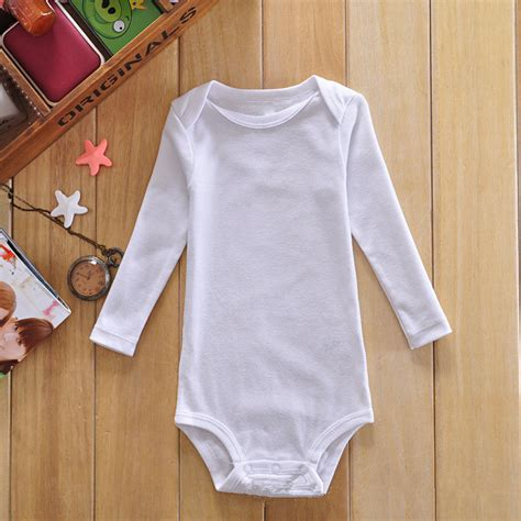 sleeve onsie aliexpress buy wholesale baby clothes newborn baby cotton white bodysuits sleeve baby